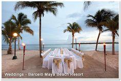 barcelo weddings mexico maya-beach-resort