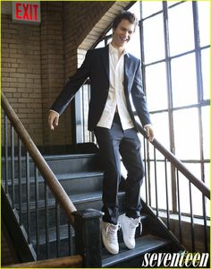 Ansel Elgort makes us swoon on the April 2015 cover of Seventeen magazine, on newsstands March 24.