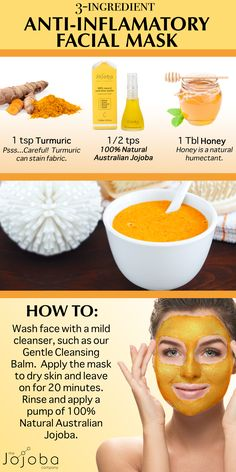 This DIY inflamation reducing face mask helps to brighten skin, reduce redness and fight blemishes. The Jojoba Company Australia's pure jojoba has endless benefits for the skin Natural Facial, Natural Skin Care, Neutrogena, Redness On Face, Banana Face Mask, Charcoal Face Mask, Aloe Vera, Skin Care Remedies, Up Dos