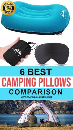 A camping pillow is a necessity for hikers and campers who need neck support after a long day of activity. Our reviews will give you a glimpse of the best camping pillows available in the market. Water Activities, Physical Activities, Camping Ideas, Camping Hacks, Adventure Awaits, Adventure Travel, Best Travel Gadgets, Camping Pillows, Backpacking Gear