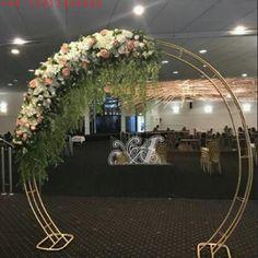Metal Wedding Arch, Wedding Walkway, Metal Arch, Metal Vase, Tree Centerpieces, Flower Decorations, Wedding Decorations, Purple Wedding, Wedding Flowers