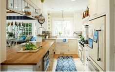 Portland, Oregon cozinha casa projetada e reutilizado com charme