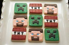 Minecraft cookies www.SoonerSugar.com