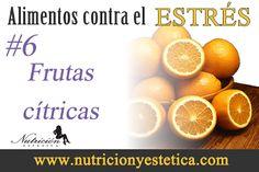 Un estudio alemán del 2002 encontró que una fuerte dosis de vitamina C ayuda a recuperarse más fácilmente de una situación estresante. Tanto la presión arterial y los niveles....    Para mas informacion encontranos en: http://nutricionylaestetica.blogspot.com/2013/02/6-frutas-citricas-alimentos-para.html