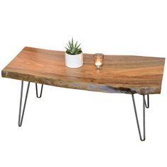 Retro Natural Edge Coffee Table