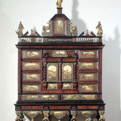 Cabinet, anonymous, c. 1680 - c. 1690 - Rijksmuseum