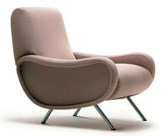 Lady (1951), an icon of 50′s Italy design, was designed by Marco Zanuso and is made by Arflex.