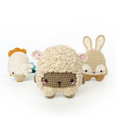 4 seasons Easter special amigurumi pattern by Lalylala Crochet Bunny, Crochet Patterns Amigurumi, Crochet Toys, Cute Lamb, Easter Specials, Easter Crochet Patterns, Cute Baby Gifts, Crochet Projects, Etsy