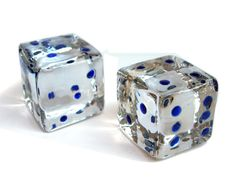 glass dice