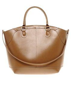 Enlarge ASOS Leather Bucket Tote Bag