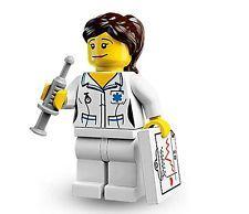 Lego 8683 Krankenschwester Nurse Minifigures Serie 1 Nr. 11 Figur + BPZ + OVP