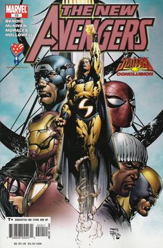 - Written by Brian Michael Bendis and Art by Steve McNiven How do the Avengers react to a new powerhouse that can be a threat greater than even their combined might?