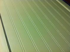 How to Glaze Beadboard