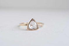 Clear Rose Cut Trillion Diamond Ring 1.3 ctw-5.jpg