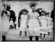 Mexico. Merida. Women perform folk dance Photography Tags, Folk Dance, Slums, Polaroids, Merida, Public Transport, National Parks, Travel, Women