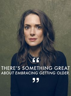 Winona Ryder Feels Liberated to Play Her Age -- Even If Hollywood Didn't Want Her To