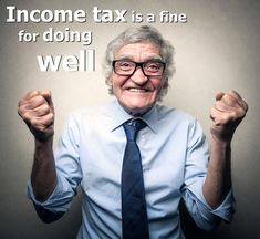 דוח שנתי - מס הכנסה Income tax is a fine for doing well(: #tax_quotes #accounting_humor #quotes #tax_report http://www.accountingfirm.co.il/דוח-שנתי-מס-הכנסה/