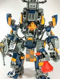 Axls mech - version 2 upgraded using new techniques and be… | Flickr