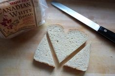 Heart-Shaped Toast (No Cookie Cutter Required!)