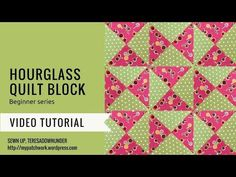 This is a quick and easy block suitable for beginners. It can be made in coordinated fabrics or scrappy. For a faster block you can use pre-cuts such as charm squares like I used for the video tuto…