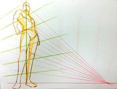 「アオリ」と「フカン」を描けたら絵の幅がグンと広がるのです。 | 代々木アニメーション学院大阪校|大阪で声優・アニメ・マンガ・イラスト・フィギュアを専門に学ぶ学校
