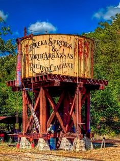 Eureka Springs Water Tower - Old water tower in Eureka Springs Arkansas
