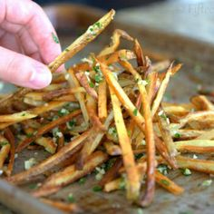 Image for Crispy Baked Garlic Fries