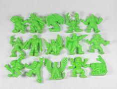 Monster in my Pocket - Series 1 - Neon Green - X 15 Mini Figures My Pocket, Classic Toys, Neon Green, Dinosaur Stuffed Animal, Mini