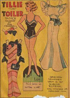 Tillie the Toiler Fashion Parade