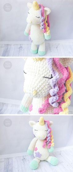 Pattern caramel the little pony pdf crochet toy pattern big plush unicorn crochet pattern large crochet toy pattern plush unicorn pattern crochet fandeluxe Images