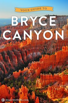 So you've in Bryce Canyon National Park and you're ready to explore. Here's your travel guide to one of the coolest places in America!