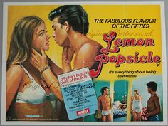Lemon_Popsicle(Growing up) - 1978 Lemon Popsicles, 1970s Movies, Bobby Vinton, Bill Haley, Film Story, Tv Ads, Drama Film, Coming Of Age, Series Movies