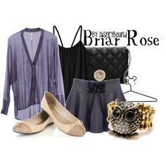 Briar Rose, created by lalakay on Polyvore