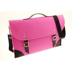 "Etoi Design - różowa torba na 13"" laptop Macbook"