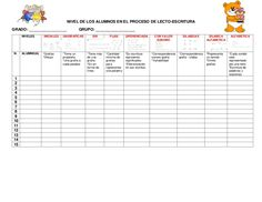 Ejemplo Evaluación final de Preescolar