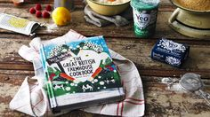 Written by our very own Sarah Mayor, The Great British Farmhouse Cookbook is a celebration of country kitchen traditions and seasonal British food.