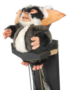 GREMLINS 2: THE NEW BATCH (1990) - Servo Operated George Mogwai Puppet - Price Estimate: $6000 - $8000