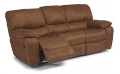 Grandview Fabric Power Reclining Sofa by #Flexsteel via Flexsteel.com