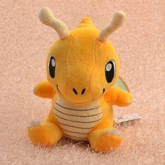 Pokemon Dragonite 16cm Soft Plush