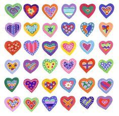 Hearts pattern by harryillustration, via Flickr