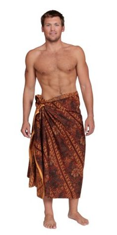 Traditional Indonesian Swimsuit Cover-up Sarong- by 1 World Sarongs / Assorted Mens  Womens $19.99