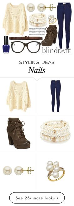 """""""Blind Date//Beautiful But So Dysfuntional"""" by eb-writer-girl on Polyvore featuring Forever 21, Material Girl, Abercrombie & Fitch, OPI, Dsquared2, Lord & Taylor, women's clothing, women, female and woman"""