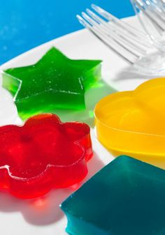 CAPRI SUN-JELL-O JIGGLERS – The hardest part of this easy recipe? Waiting for the JELL-O to firm in the refrigerator.