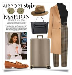 """""""Untitled #977"""" by neflaluna on Polyvore featuring Pilot, Mulberry, Gucci, Joseph, rag & bone, Rimowa, CÉLINE, Chloé, Ahlem and Glamour"""