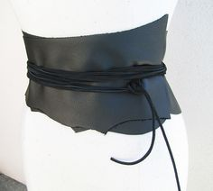 Leather Wrap Belt. Very cool and very easy.