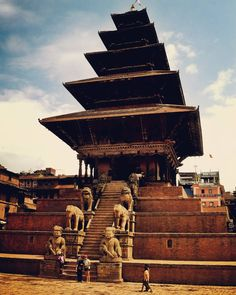 Sooo happy to be back in Kathmandu!! The Nyatapola Pagoda in Bhaktapur built during the Malla Period in honor of the Tantric Goddess Siddhi Lakshmi.  #kathmandu #nepal #adventure #explore #art #sculpture #statue #style #architecture #history #buddhist #hindu #pagoda #yoga #elephant #instatravel #travel #love #beautiful #vintage #trinidad #trini by stefanmahabir http://bit.ly/AdventureAustralia