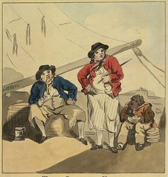 Royal Navy, Sailors, 18th Century, Soldiers, Empire, Urban, Drawings, Painting, Art