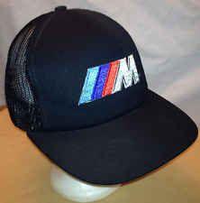 9c38e0247aecd Rare Vintage BMW M3 Logo Snapback Trucker Hat Cap Mesh Baseball Adjus…