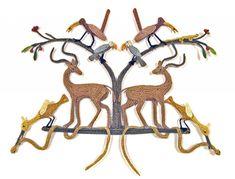 "CAROL ECKERT POEM OF THE ANTELOPE Cotton, wire  15"" x 17"" x 2"" Textile Sculpture, Soft Sculpture, Textile Art, Found Art, Fabric Art, Poem, Wire, Textiles, Gallery"