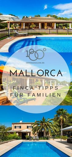 Fincas auf Mallorca für den Familien Urlaub 2017 – Kinderfreundlich Finca holiday in Majorca with the family – tips for the holiday Dream Vacations, Vacation Trips, Travel Couple, Family Travel, Hotel Mallorca, Travel Tags, Family Destinations, Destination Voyage, Worlds Of Fun